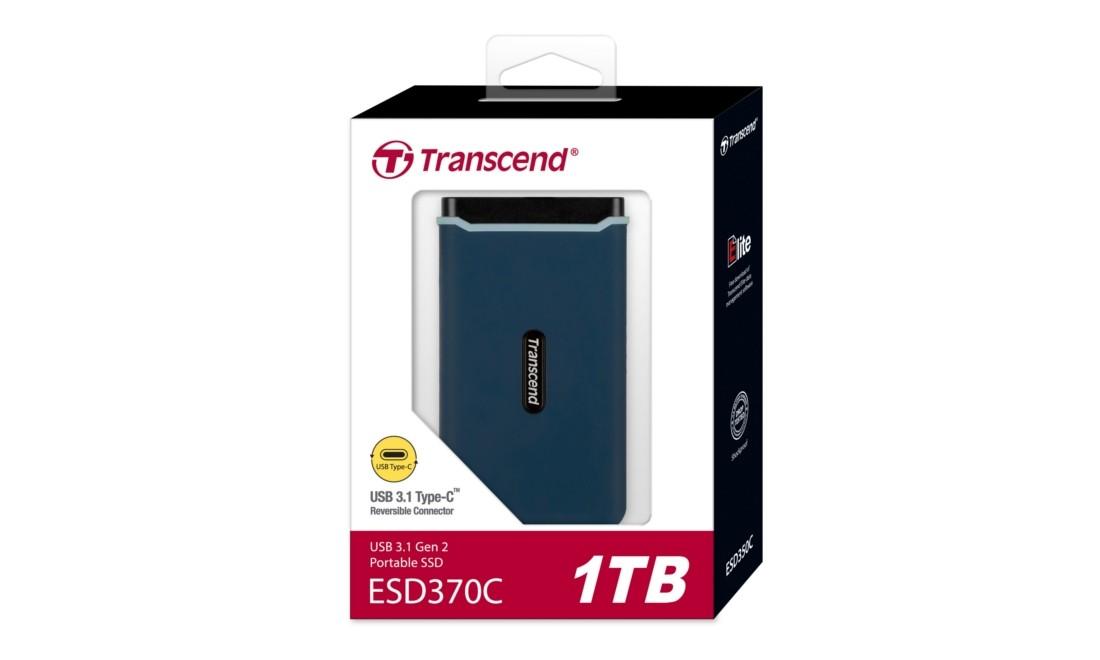 Зовнішній SSD Накопичувач Transcend 1ТБ ESD370C - TS1TESD370C