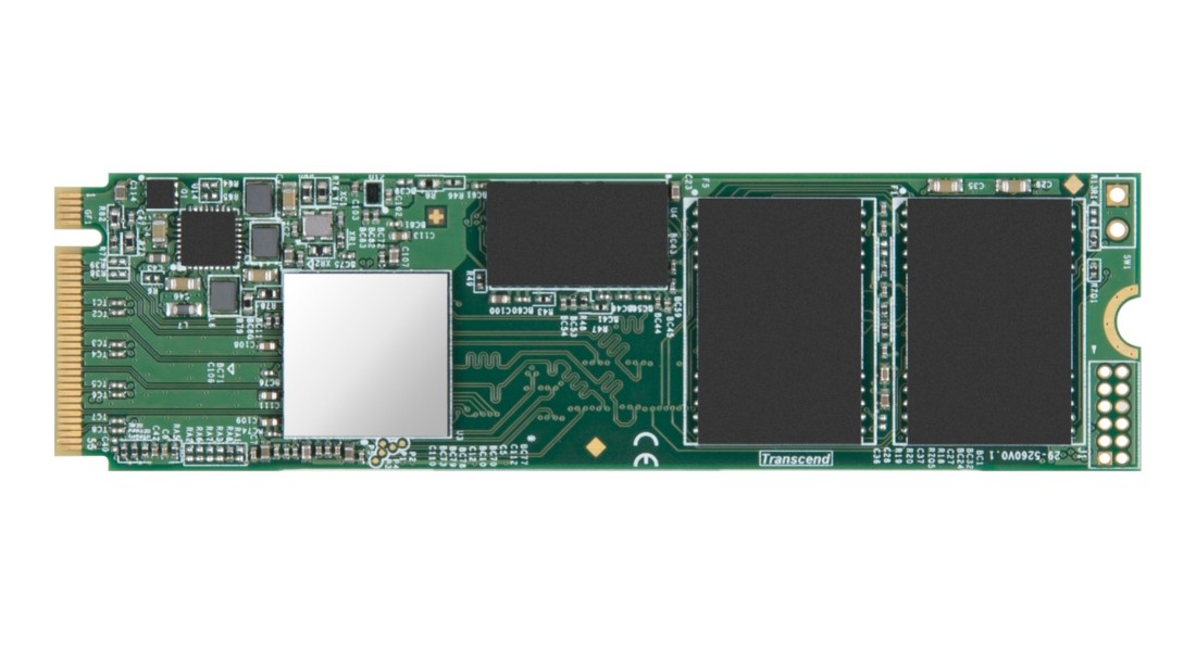 SSD накопичувач Transcend MTE652T 256ГБ M.2 PCIe 3D NAND (TS256GMTE652T)
