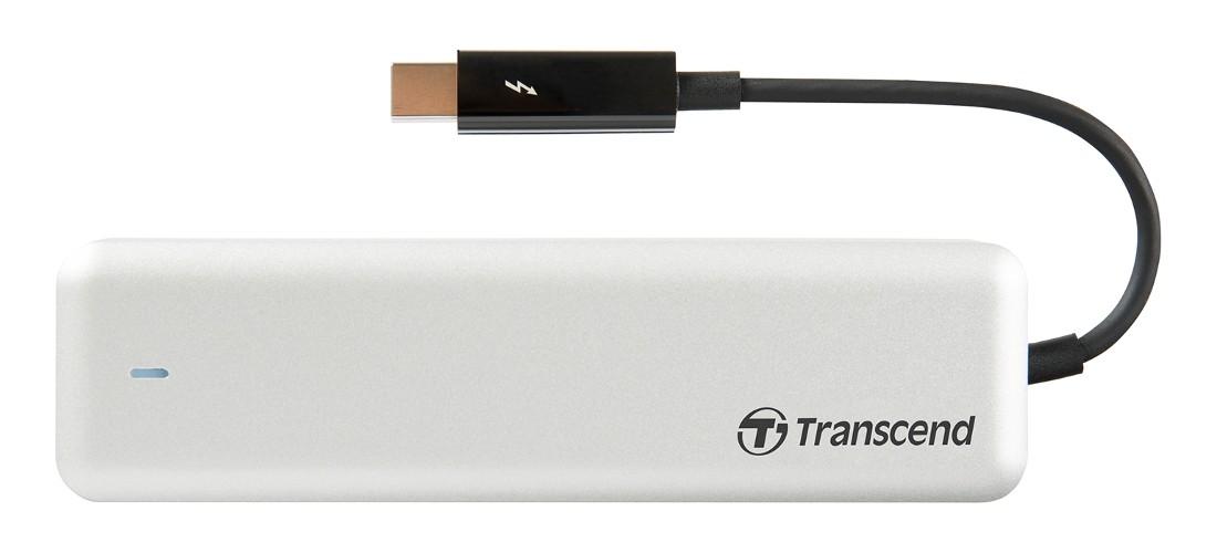 Зовнішній SSD Transcend JetDrive 855 Thunderbolt™ 240GB (TS240GJDM855)