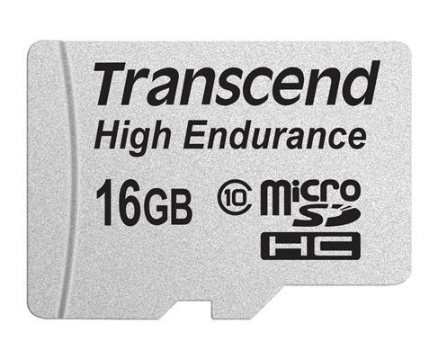 Картка пам'яті Transcend 16GB High endurance microSDXC/SDHC (TS16GUSDHC10V)