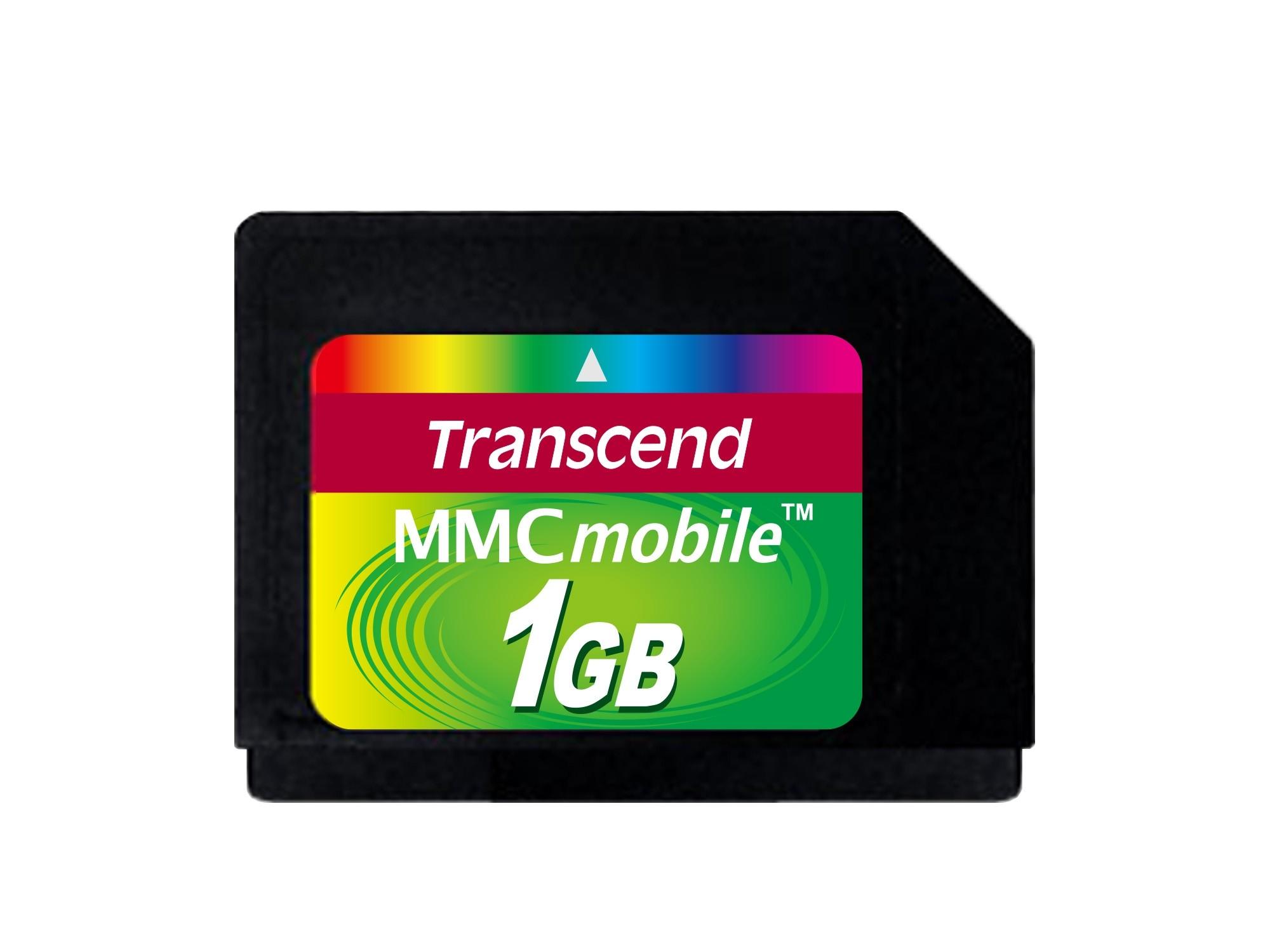 Карта пам'яті TS1GRMMC4 - Transcend 1GB MMCmobile (RS-MMC)