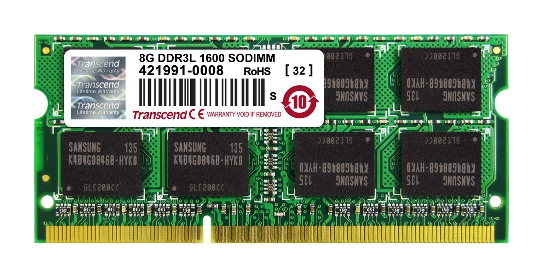 Оперативна пам'ять DDR3 SODIMM 8GB 1600MHz (TS1GSK64W6H)