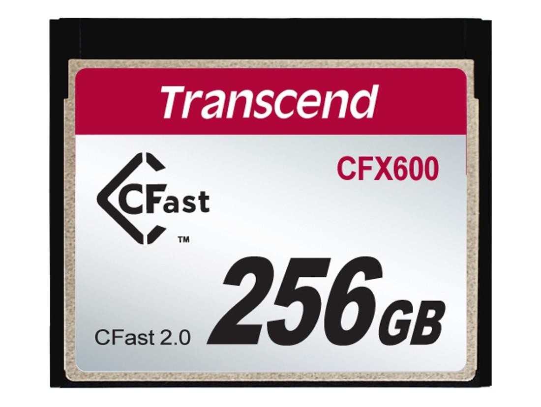 Картка пам'яті Transcend CFX600 256ГБ CFast 2.0 600X MLC Промислового класу (TS256GCFX600)