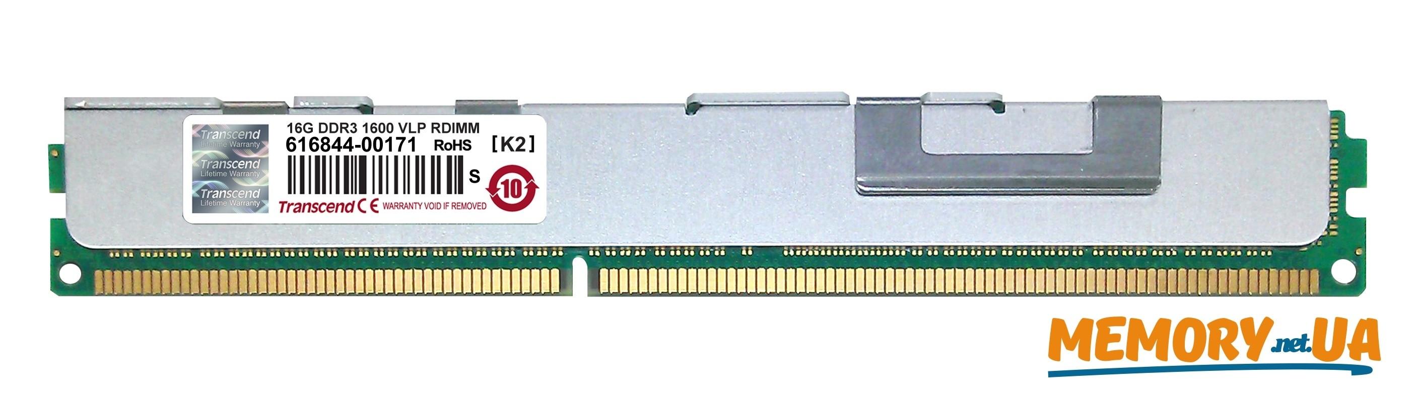 Оперативна пам'ять DDR3 ECC RDIMM 16GB (TS2GKR72V6PL)