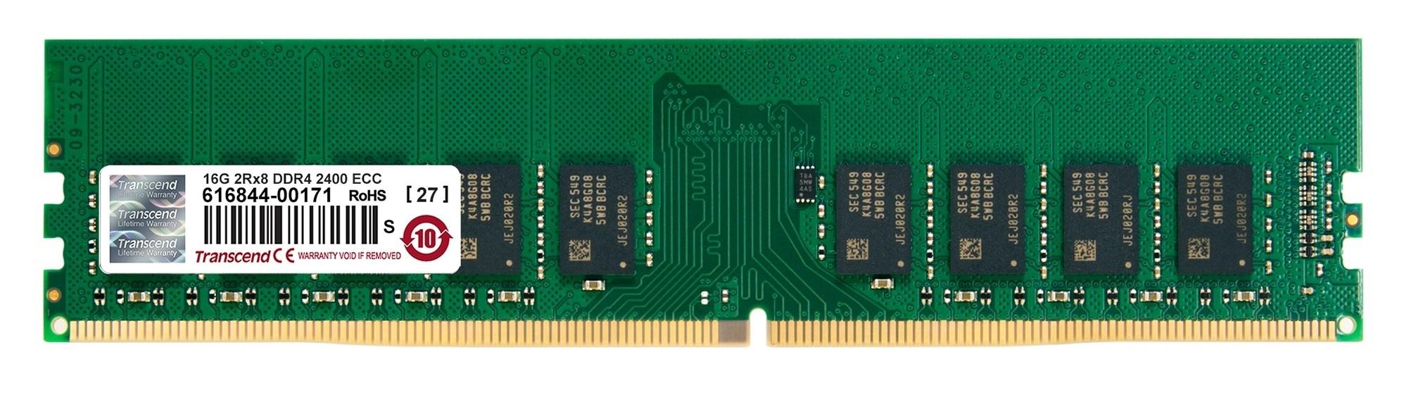 Оперативна пам'ять DDR4 ECC UDIMM 16GB 2133MHz (TS2GLH72V1B)