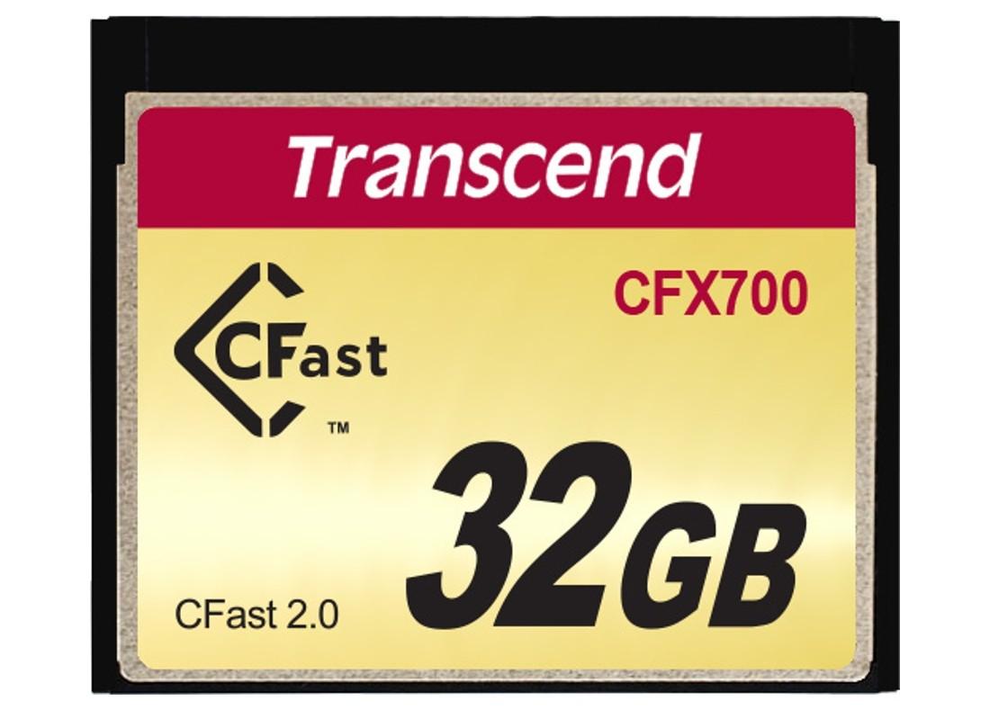 Картка пам'яті Transcend CFX700 32ГБ CFast 2.0 700X SLC Промислового класу (TS32GCFX700)