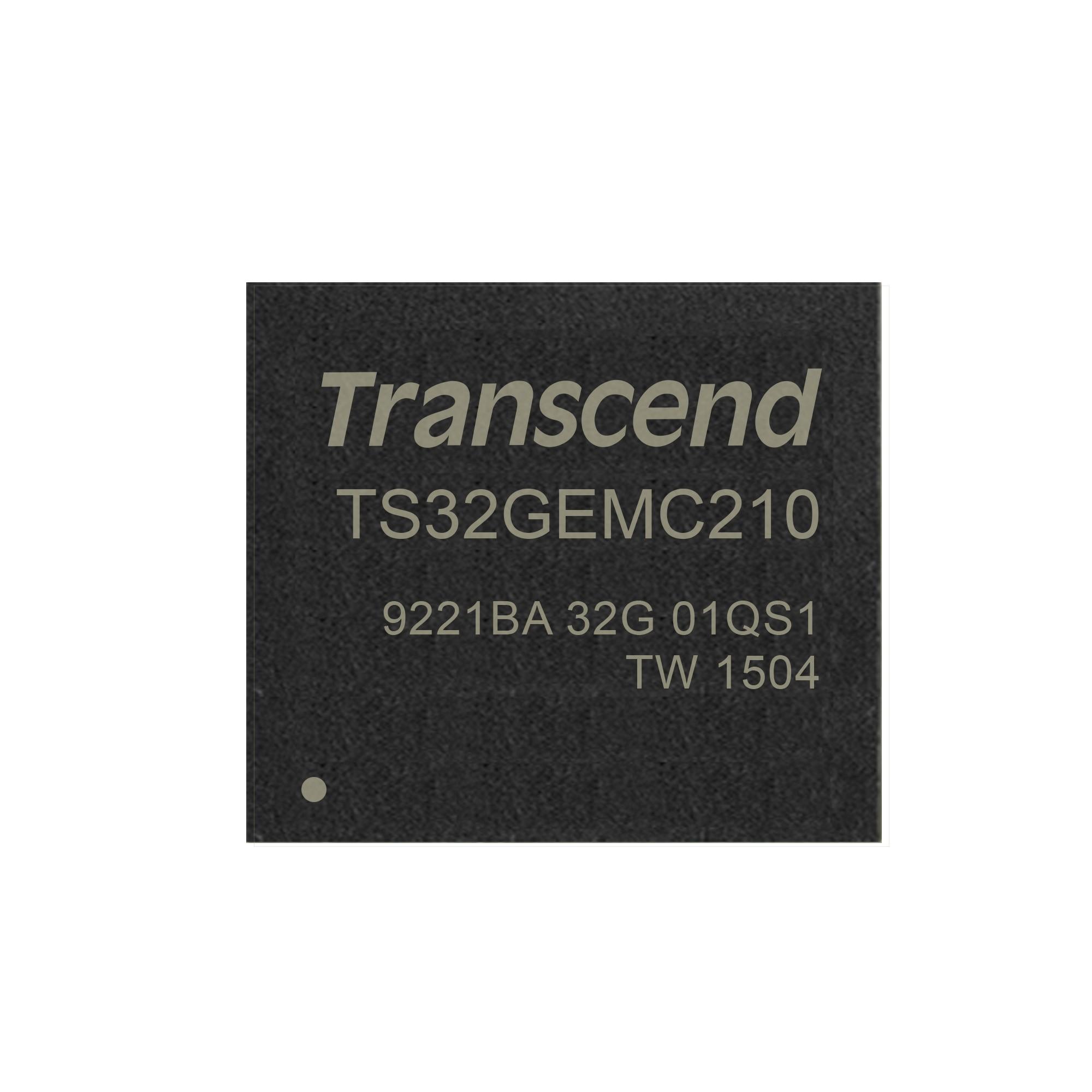Карта пам'яті TS32GEMC210 - Transcend 32GB eMMC (ver. 4.51) MLC