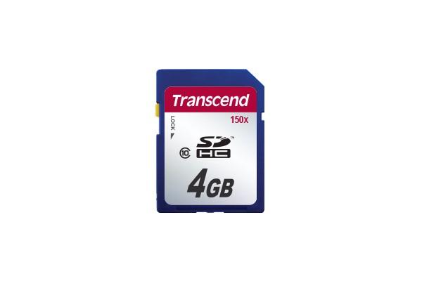 Картка пам'яті Transcend 4GB SDHC 150X SD 2.0 SPD Class 6 (TS4GSDHC150)