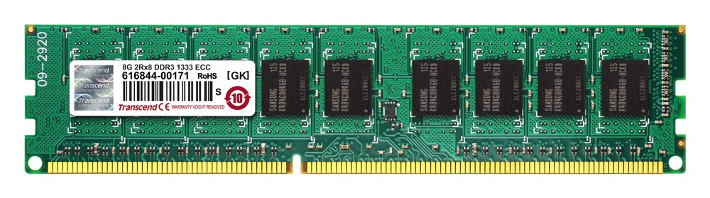 Оперативна пам'ять DDR3 ECC UDIMM 8GB (TS8GJMA343H)