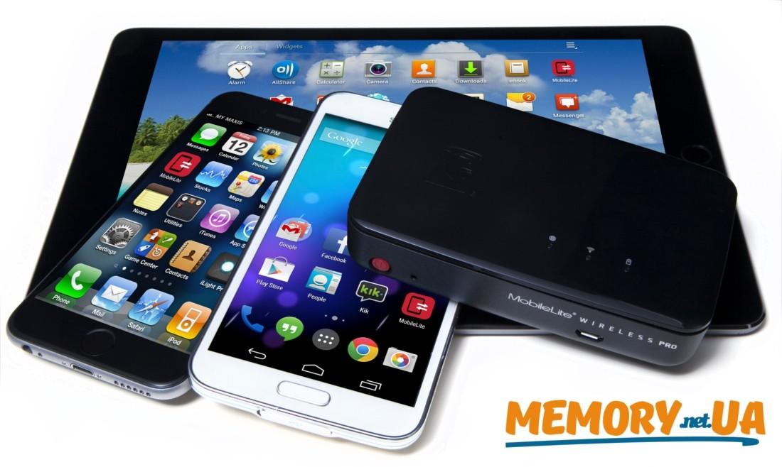 Wi-Fi бездротовий кардрідер MobileLite Wireless Pro