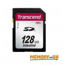 Картка пам'яті Transcend 128МБ SD картка 100X Class 10 24MB/s 12,5MB/s SLC Промислового класу (TS128MSD100I)