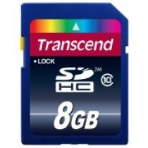 Картка пам'яті Transcend 8GB SDHC C10 R20MB/s (TS8GSDHC10)