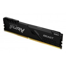 Оперативна пам'ять Kingston FURY Beast 16ГБ DDR4 3600МГц CL18 1Rx8 DIMM Чорна - KF436C18BB/16