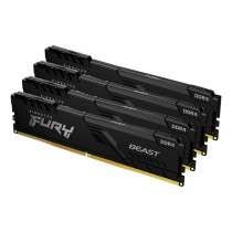 Оперативна пам'ять Kingston FURY Beast 32ГБ DDR4 3600МГц CL17 1Rx8 DIMM Чорна - KF436C17BBK4/32