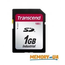 Картка пам'яті Transcend 1ГБ SD картка 100X Class 10 24MB/s 12,5MB/s SLC Промислового класу (TS1GSD100I)
