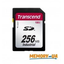 Картка пам'яті Transcend 256МБ SD картка 100X Class 10 24MB/s 12,5MB/s SLC Промислового класу (TS256MSD100I)