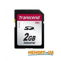 Картка пам'яті Transcend 2ГБ SD картка 100X Class 10 24MB/s 12,5MB/s SLC Промислового класу (TS2GSD100I)