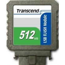 Модуль флеш-пам'яті (вертикальний) Transcend 512MB USB SLC Промислового класу (TS512MUFM-V)