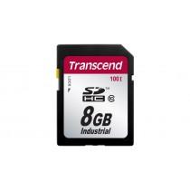 Картка пам'яті Transcend SDHC100I 8ГБ 100X Class 10 SLC Промислового класу з широким діапазоном робочих температур (TS8GSDHC100I)