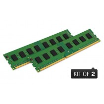 Набір модулів пам'яті Kingston 8GB Kit (2x4GB) 1600MHz DDR3 Non-ECC CL11 DIMM 1Rx8 (KVR16N11S8K2/8)