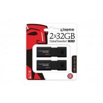USB флеш накопичувач 32GB Kingston DataTraveler 100 G3 DT100G3/32GB-2P