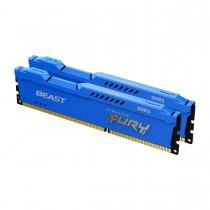 16GB 1600MHz Kingston FURYBeastBlue оперативна пам'ять DDR3  DIMM (KF316C10BK2/16)