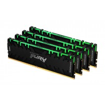 128GB 3600MHz Kingston FURY Renegade RGB оперативна пам'ять DDR4  DIMM (KF436C18RBAK4/128)