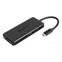 USB-концентратор 6-в-1 Transcend HUB5C USB 3.1 (Type-C) - TS-HUB5C