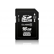 Картка пам'яті SD GOODRAM 16ГБ pSLC 0°C~70°C (SDC16GCPGRB)