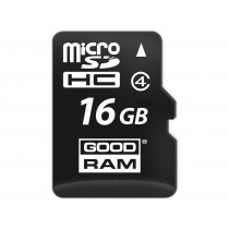 Картка пам'яті microSD GOODRAM 16ГБ MLC 0°C~70°C (SDU16GCMGRB)