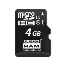 Картка пам'яті microSD GOODRAM 4ГБ MLC -25°C~85°C (SDU4GGMGRB)
