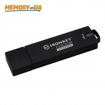 Флеш накопичувач з апаратним шифруванням і віддаленим керуванням Kingston IronKey D300SM 4ГБ USB 3.1 (IKD300SM/4GB)