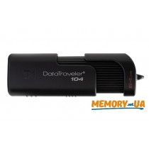 Флешка DT104/64GB Kingston 64GB USB 2.0 DataTraveler 104