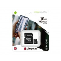 Картка пам'яті microSDHC Kingston Canvas Select Plus 16ГБ (SDCS2/16GB)