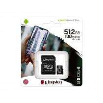 Картка пам'яті microSDXC Kingston Canvas Select Plus 512ГБ (SDCS2/512GB)