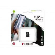 Картка пам'яті microSDXC Kingston Canvas Select Plus 512ГБ (SDCS2/512GBSP)
