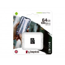 Картка пам'яті microSDXC Kingston Canvas Select Plus 64ГБ (SDCS2/64GBSP)