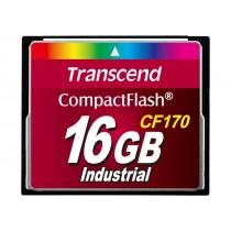 Картка пам'яті Transcend CF170 16ГБ 170X MLC Промислового класу (TS16GCF170)