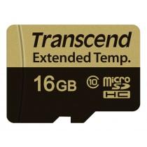 Картка пам'яті Transcend 16GB microSDHC Class 10 24МБ/с 16МБ/с MLC Промислового класу (TS16GUSD520I)
