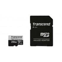 Картка пам'яті microSDXC Transcend 330S 256ГБ 100МБ/с 85МБ/с 3D TLC NAND UHS-I U3 (TS256GUSD330S)
