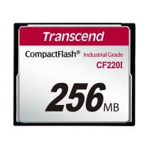 Картка пам'яті Transcend CF220I 256МБ 220X SLC Промислового класу (TS256MCF220I)