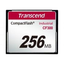 Картка пам'яті Transcend CF300 256МБ CF 300X SLC Промислового класу (TS256MCF300)