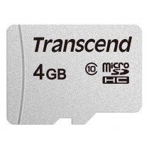 Картка пам'яті microSD Transcend 300S 4ГБ (TS4GUSD300S)