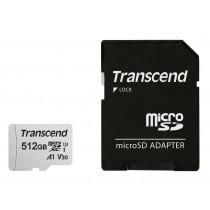 Картка пам'яті microSD Transcend 300S 512ГБ (TS512GUSD300S-A)