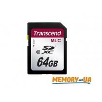 Картка пам'яті Transcend 64ГБ SDXC Class 10 24МБ/с 22МБ/с MLC Промислового класу (TS64GSDXC10M)
