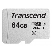 Картка пам'яті microSD Transcend 300S 64ГБ (TS64GUSD300S)