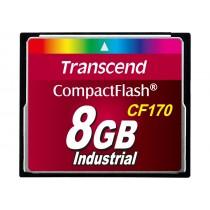Картка пам'яті Transcend CF170 8ГБ 170X MLC Промислового класу (TS8GCF170)