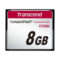 Картка пам'яті Transcend CF200I 8ГБ 200X SLC Промислового класу (TS8GCF200I)
