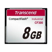 Картка пам'яті Transcend CF300 8ГБ 300X SLC Промислового класу (TS8GCF300)