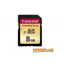 Карта пам'яті TS8GSDC520I - Transcend Industrial 8GB SDHC520I MLC Extended Temp